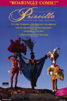 Essential Films To Watch, The Adventures of Priscilla, Queen of the Desert - Gay Essential   The most epic movie ever! <3