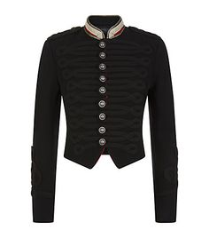 Polo Ralph Lauren Cropped Officer\u0027s Jacket available at harrods.com. Shop  women\u0027s designer fashion