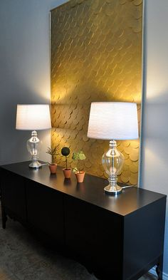 DIY Sophisticated Artwork.  Lovely...I'm doing this...now where's that circle cutter?