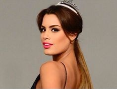 Ariadna-Gutierrez, Miss Colombia-2014. Colombian women are famously known for their beauty and charm.