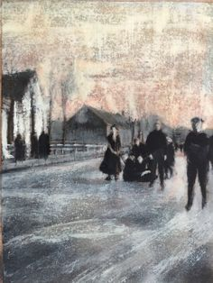 Kunstwerk van Barbara van Marle Van, Painting, Painting Art, Paintings, Vans, Painted Canvas, Drawings, Vans Outfit