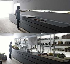 New Italian Kitchen Design Personalizes and Declutters Modern Kitchens