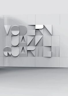 #typography #board https://www.pinterest.com/dooce/typography/ Modern Jazz…