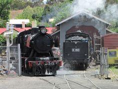 Preserved Steam Locomotives Down Under - J 515 - 02 Steam Locomotive, Back In Time, Preserves, Trains, Restoration, Past, Preserve, Past Tense, Preserving Food