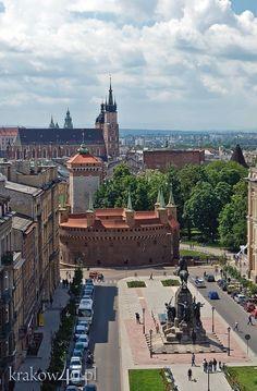 Krakow-Plac Jana Matejki: