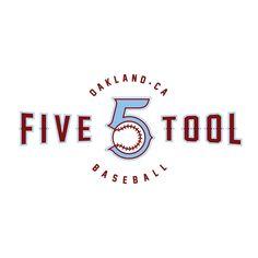 FIVE TOOL BASEBALL Oakland, CA travel baseball team. Travel Baseball, Interactive Design, Signage, Identity, Logos, Billboard, Signs, Logo