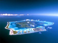 Bora Bora from the sky