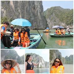 I chose the latter for I don't know how to kayak and Em2x got cold feet so she didn't join me.  The traditional fishing boat tour only costs 130,000 VND or 260 PhP per person anyway. www.maryrosalieo.blogspot.com #HalongBay #Vietnam #tosomtravels #summer2015