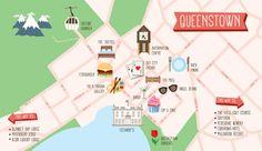 Queenstown map: Tom Hislop
