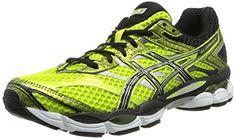 Asics Gel Cumulus 16 - Zapatillas de running para hombre, color amarillo / negro / plata / blanco, talla 44.5 - http://paracorrer.com/producto/asics-gel-cumulus-16-zapatillas-de-running-para-hombre-color-amarillo-negro-plata-blanco-talla-44-5/