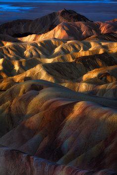 ~~This Light Between Us | Sunrise at Zabriskie Point, Death Valley, California by Eddie 11uisma~~