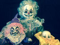 Creepy clowns I made