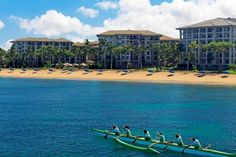 The Westin Ka'anapali North Villas from the water  #placesinparadisetravel