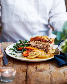 The Hairy Bikers' roast belly of pork recipe | Pork ...
