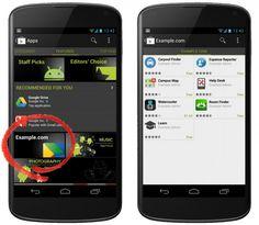 Google permite a empresas tener su sección privada en Google Play
