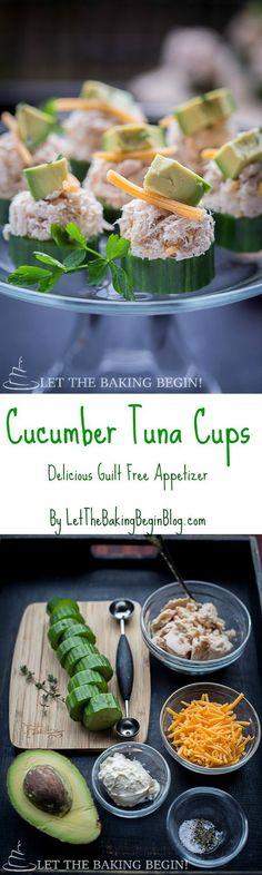 Cucumber Tuna Bites
