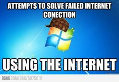 Scumbag windows on internet connections