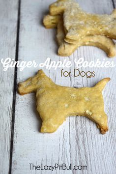 Ginger Apple Dog Cookies