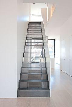 Custom stairs Chicago, Modern Staircase design Chicago, Custom Stair Design…