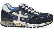 Blauwe Premiata schoenen Mick sneakers