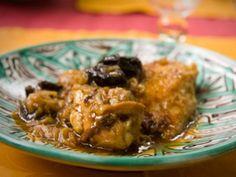 Receta   Tajine de pollo con ciruelas - canalcocina.es
