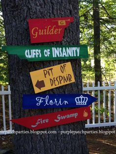 The Princess Bride Movie Night Party Ideas | Photo 9 of 36 | Catch My Party