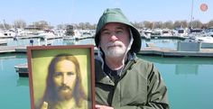 Lone Fisherman Struggles to Pronounce the Savior's Name, and It's Strangely Hypnotic