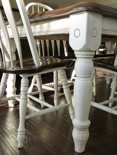 Tutorial and tips on how to give furniture that Antique Ivory effect-