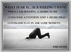 The one who fears something the most is the one who has it most activated in their vibration. And so, it is logical that they would experience it. ---Abraham