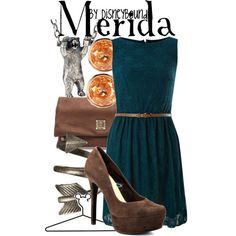 """Merida"" by lalakay on Polyvore #disney"