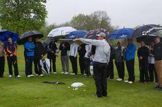 TaylorMade Golf Clinic at London Golf Club #EuropeanTour