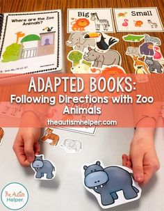 Resources, tips, and materials to help you, help children with autism Sorting Activities, Speech Therapy Activities, Language Activities, Preschool Activities, Activities For Kids, Play Therapy, Interactive Books For Preschoolers, Art Therapy, Speech Therapy Autism