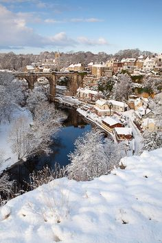 Knaresborough, Yorkshire - such a beautiful place and a great base for harrogate, york, ribblesdale etc