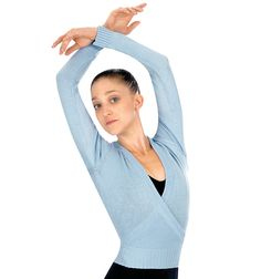 Adult Cardigan. A great addition to any ballet attire, this cardigan is meant to keep those arms warm before class.