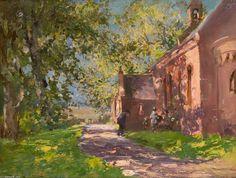Auchmithie Eglise de William Bradley Lamond (1857-1924, United Kingdom)