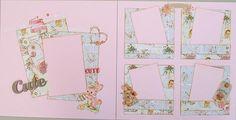 """Hush Little Baby"" 12x12 Scrapbooking Kit by ""Diva Karen""! @SGDstore"