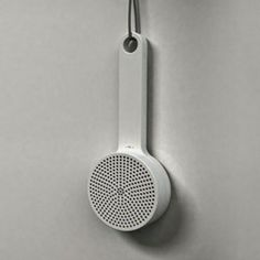Designer Gerhardt Kellermann developed a shower and kitchen radio, inspired by the Muji wooden brush. This interpretation uses the speaker a...