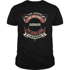 Awesome Tee GERBER name tee shirts Shirts & Tees