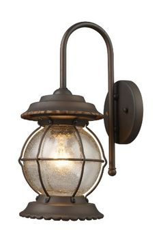 Elk 08172-BB Manchester 1-Light 9-Inch Width by 21-Inch Height Outdoor Sconce In Burnt Bronze Elk http://www.amazon.com/dp/B0018KX8O6/ref=cm_sw_r_pi_dp_S4j.vb1AA1VN2