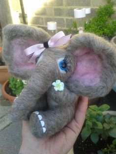 beautiful elephants! by michelle graves on Etsy