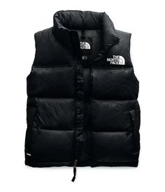 New Women's North Face Black 1996 Retro Nuptse 700 Down Vest Jacket New. women's Jackets from top store The North Face, North Face Vest, North Face Women, North Faces, North Face Nuptse, Vest Outfits, Black Vest, Down Vest, Puffer Vest