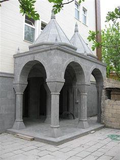 Kapı Girişleri   Doğal Taş Çeşme, Şömine, Mezar, Şadırvan