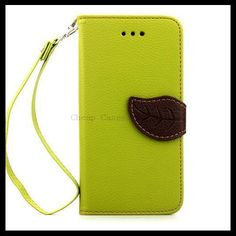 womens fashion clothing.Leaf Magnetic Flip Wallet Card Case Cover for iPhone6(4.7)..comfortable. ..relaxed..When we travel?