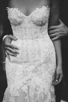 Wedding Photography Inspiration: Dress Details / Photo by Courtney Illfield / See more inspiration on The LANE (instagram @the_lane)