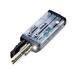 The Keyport Slide 2.0 is the Swiss Arm-key Knife of keychains. We've outfitted… Technology Gadgets, Tech Gadgets, Cool Gadgets, Geek Toys, Used Video Games, Edc Tools, Cool Tech, Outdoor Survival, Led