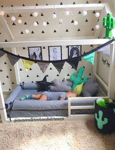 39 Inspiring and Creative Baby Boy Room Ideas Nursery Ideas Love this shared boy girl bedroom especially the girls bed here. You kind of do a double take. Such a cool mix of a modern pattern Boy Toddler Bedroom, Boy Girl Bedroom, Toddler Rooms, Baby Bedroom, Baby Boy Rooms, Baby Room Decor, Girl Room, Toddler Boy Room Ideas, Baby Boy Bedroom Ideas