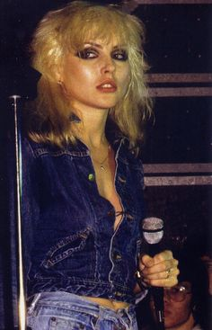 Debbie Harry of Blondie - an absolute icon. Description from pinterest.com. I searched for this on bing.com/images