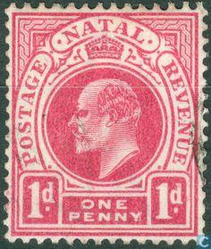 1902 Natal - King Edward VII King Edward Vii, Kwazulu Natal, Postage Stamps, Envelopes, South Africa, Postcards, Tapestry, Coins, Seals