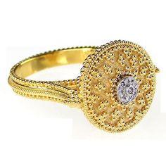 Diamond Principessa Ring  #gold #jewellery #custommade