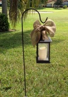 Aisle Decorations  Lantern With Shepherdu0027s Hook